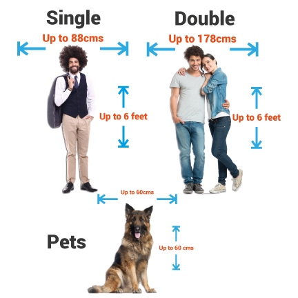 Personalised Cardboard Cutouts - Single - Supporting Strut