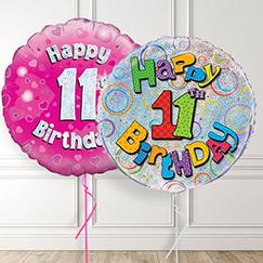 11th Birthday Balloons