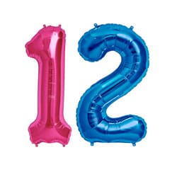 12th Birthday Balloons