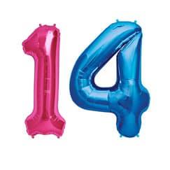 14th Birthday Balloons