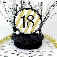 18th Birthday Table Decorations