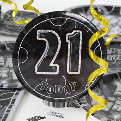 21st Birthday Party Accessories