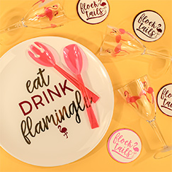 Hawaiian Theme Serveware & Drinkware
