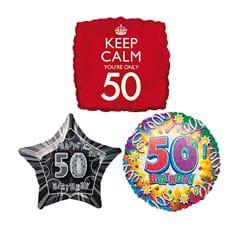 50th Birthday Balloons