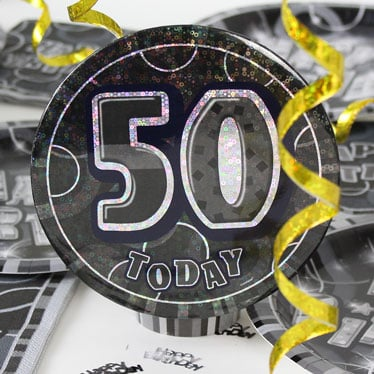 50th Birthday Party Accessories