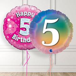 5th Birthday Balloons