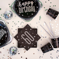 60th Birthday Party Themes