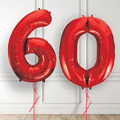 60th Birthday Balloons