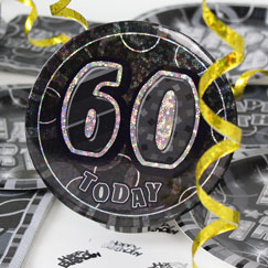 60th Birthday Party Accessories