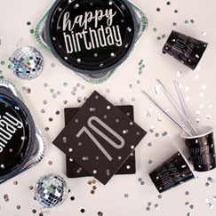 70th Birthday Party Themes