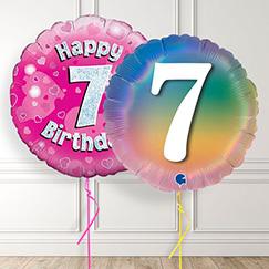 7th Birthday Balloons