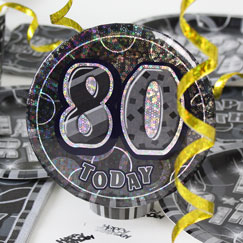 80th Birthday Party Accessories