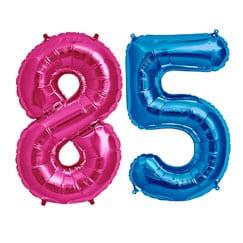 85th Birthday Balloons