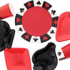 Casino Party Serveware & Drinkware