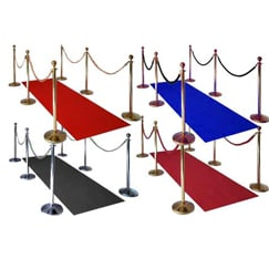 Prestige VIP Carpets, Poles And Ropes