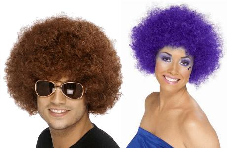 Fancy Dress Afro Wigs
