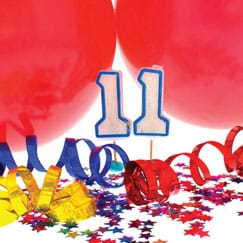 11th Birthday Party Supplies