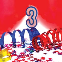 3rd Birthday Party Supplies
