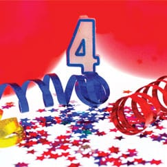 4th Birthday Party Supplies