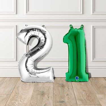 Air Fill Number Balloons