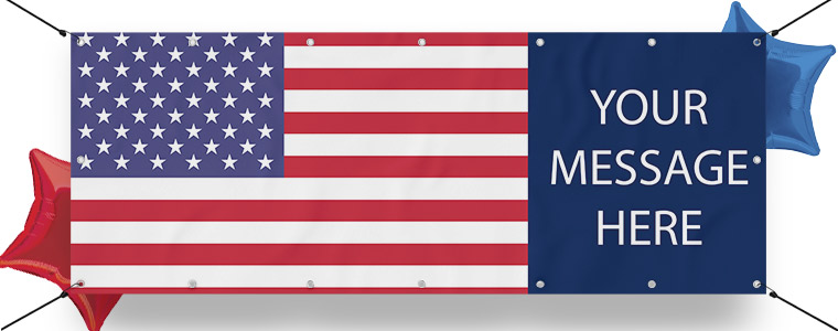 USA Personalised Banners
