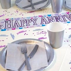 Dazzling Anniversary Party Supplies