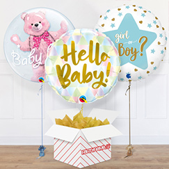 Baby Balloon In A Box