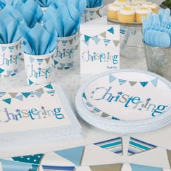 Christening Blue Party Supplies