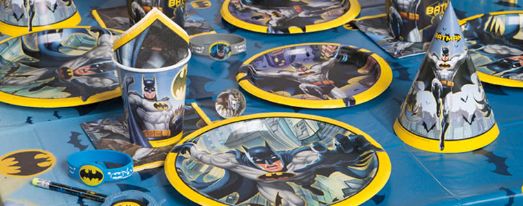 Batman Party Supplies Top Image