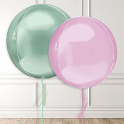 Big Round Balloons