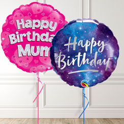 Birthday Message Balloons