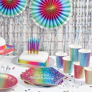 Birthday Rainbow Ombre