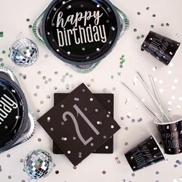 Black Glitz 21st Birthday