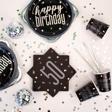 Black Glitz 50th Birthday
