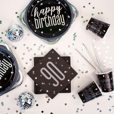 Black Glitz 90th Birthday