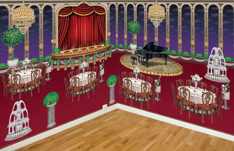 Black Tie Ballroom Scene Setters