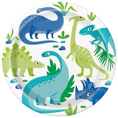 Blue & Green Dinosaur Party Supplies