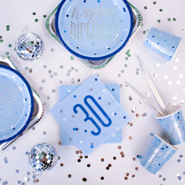 Blue Glitz 30th Birthday