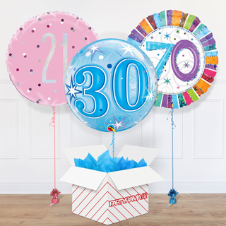 Adult Ages Balloon In A Box