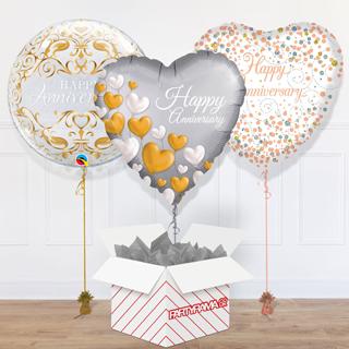 Anniversary Balloon In A Box