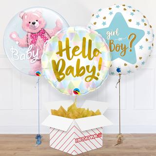 Baby Shower Balloon In A Box