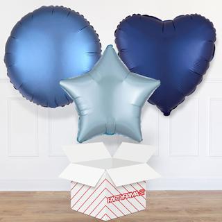 Blue Balloon In A Box