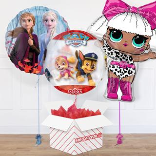 Children's Balloon In A Box