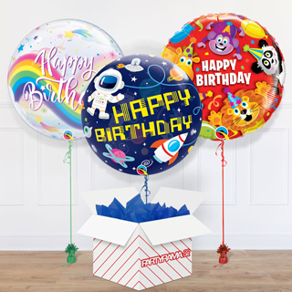 Children's Birthday Balloon In A Box