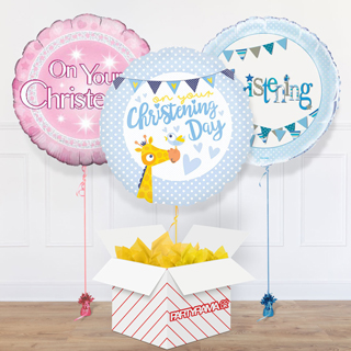 Christening Balloon In A Box
