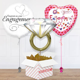 Engagement Balloon In A Box