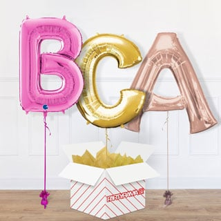 Giant Letter Balloon In A Box