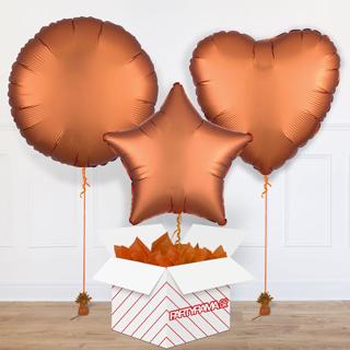 Orange Balloon In A Box