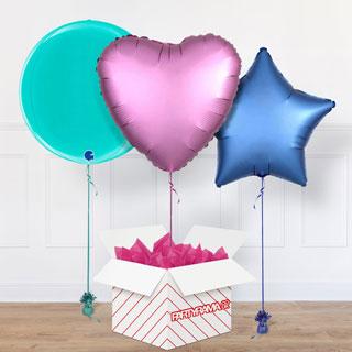 Plain Colour Balloon In A Box