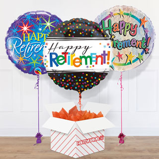 Retirement Balloon In A Box